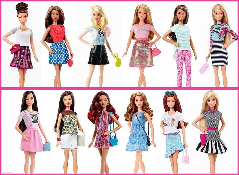 Barbie fashionistas lelles ir... Autors: Zigzig Raksts par Bārbiju un citām lellēm 👸🏼