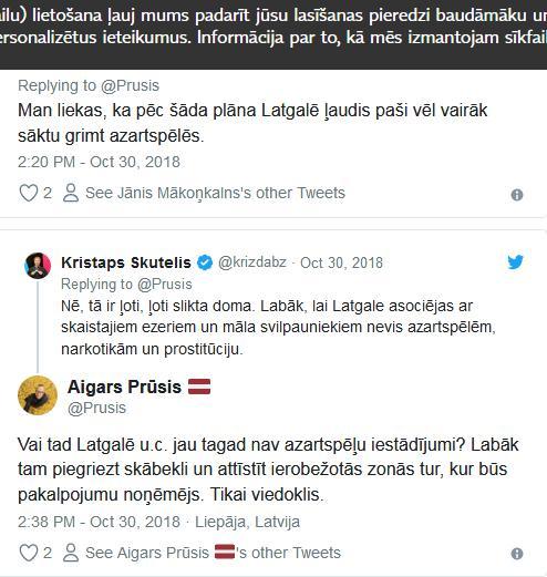 Par ne tik labu ideju to... Autors: Raivozs Latvegasa - Twitter lietotāji apspriež ideju Latgalē veidot vietējo Lasvegasu