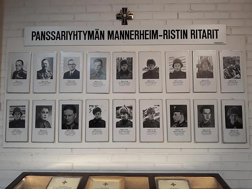 Mannerheima krustu saņēma... Autors: Marta Paula Somija - Parolas tanku muzejs