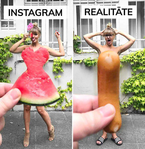 Autors: Bitchere Instagram VS realitāte