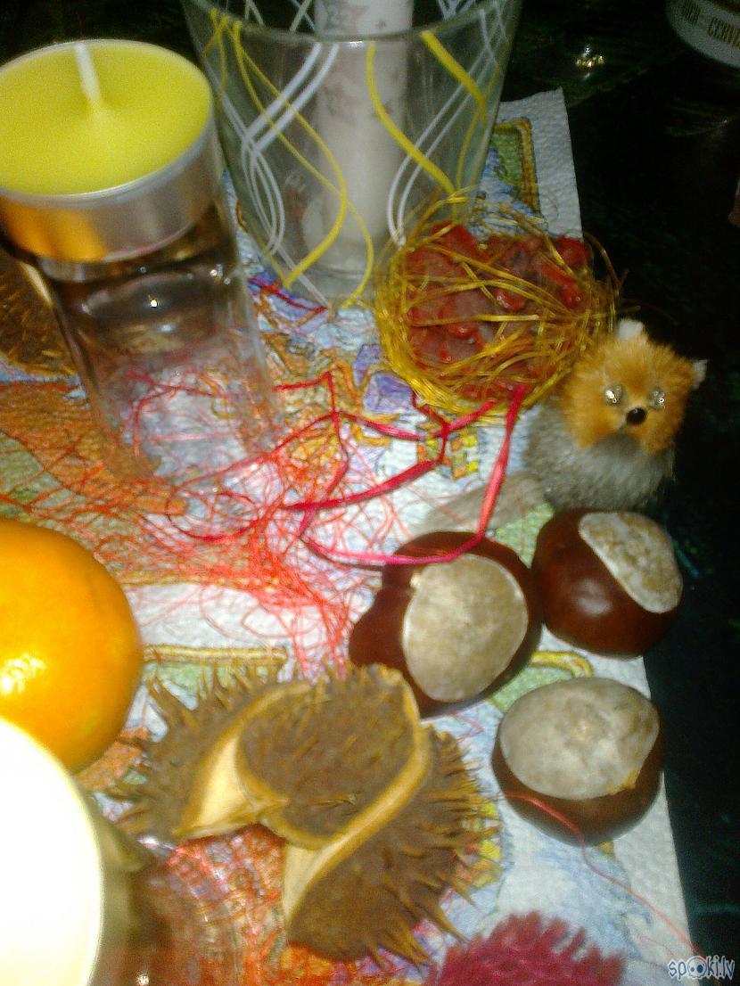Oo arī mazajam kažokzēriņam... Autors: ezkins Rudens palīgs Adventā
