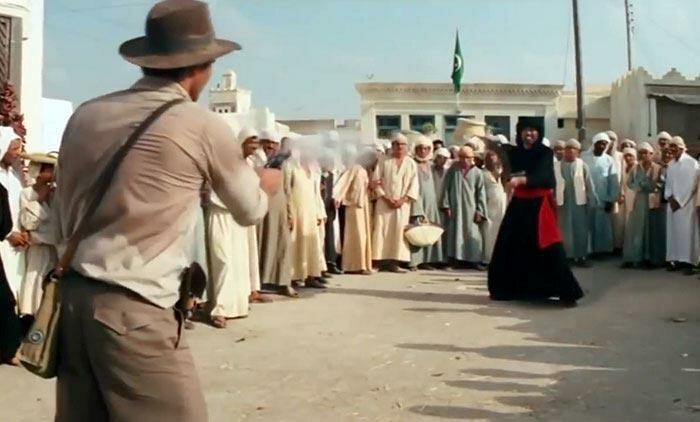 laquoIndiana Džonss un... Autors: matilde 15 slavenu filmu ainas, kuras nebija iepriekš paredzētas