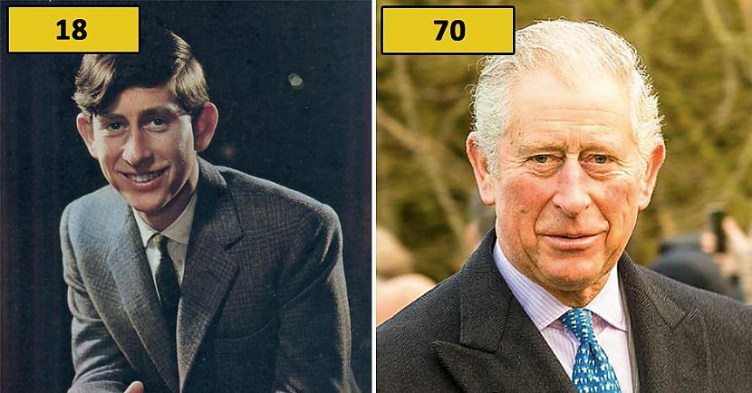 Princis Čarlzs Autors: matilde Foto: Kā karaliskās ģimenes pārstāvji izskatījās 18 gadu vecumā?