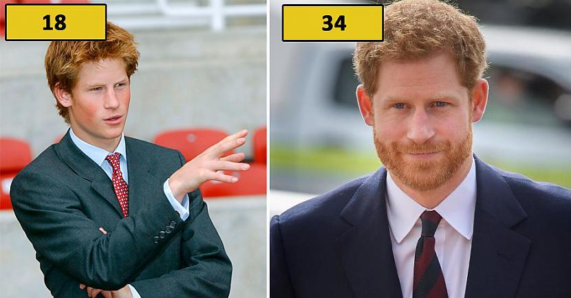 Princis Harijs Autors: matilde Foto: Kā karaliskās ģimenes pārstāvji izskatījās 18 gadu vecumā?
