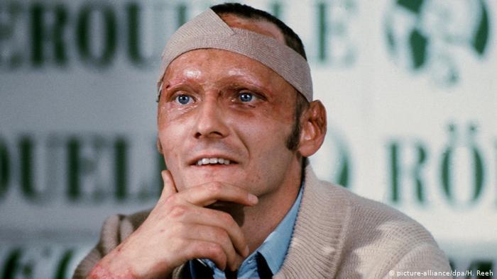 1976 Gadā Itālijas Posmā kāds... Autors: Dracus 3 īsi stāsti, kuri pierāda, ka Nikijs Lauda bija dzimis ar dzelzs raksturu