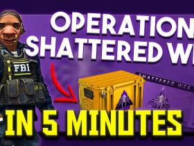 "CS:GO NEW ""Operation Shattered Web"" IN 5 MINUTES + GIVEAWAY!"