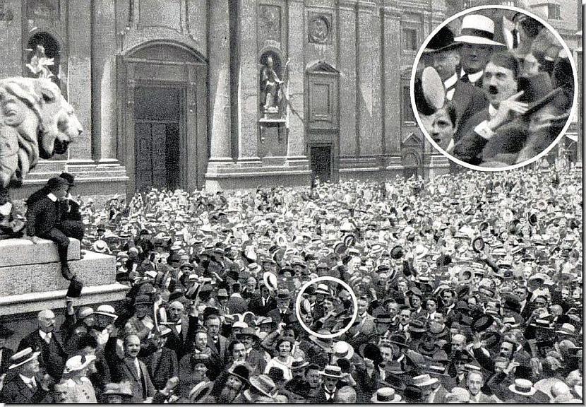 nbspPūlis svin 1 pasaules kara... Autors: Lestets Vēsturisko notikumu fotogrāfijas no cita skatpunkta