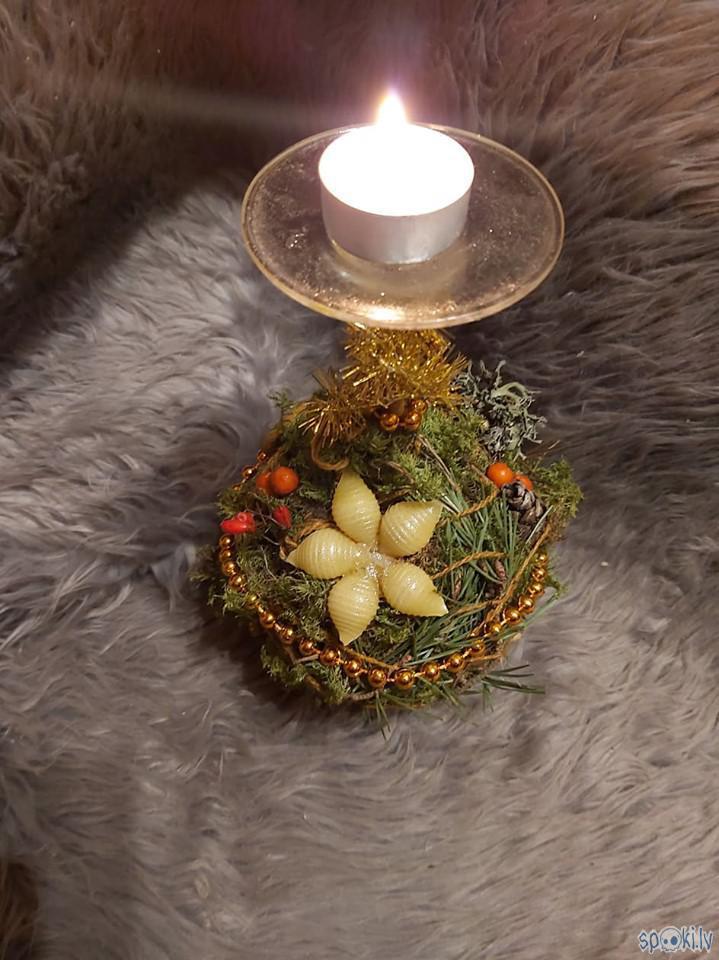 smi Autors: The Diāna Ziemassvētku svečturis paša spēkiem