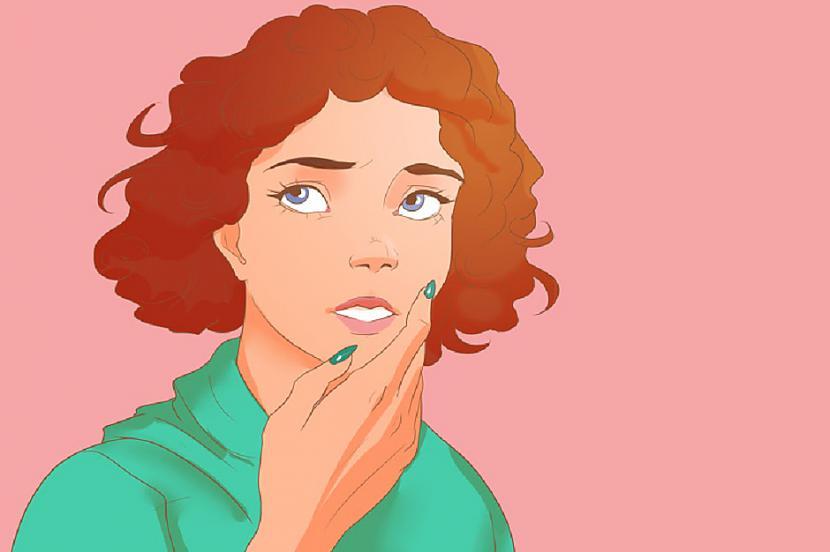 Runājot piesedz muti ar rokuTā... Autors: Lestets 7 pazīmes, kas norāda uz to, ka cilvēks melo
