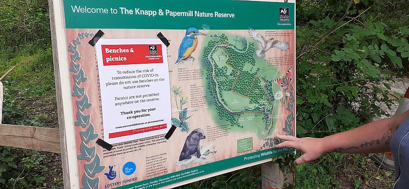 Autors: Griffith Worcestershire, The Knapp and Papermill Nature Reserve - foto izlase