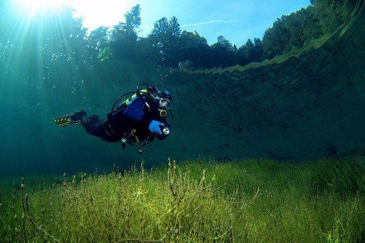 Zaļais ezers Austrijā kas... Autors: Lestets Neticami, ka šīs 30 fotogrāfijas ir uzņemtas tepat uz Zemes