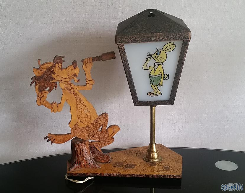 "Lampa diezgan interesanta ... Autors: pyrathe Retro lampa ""Ну, погоди!"""
