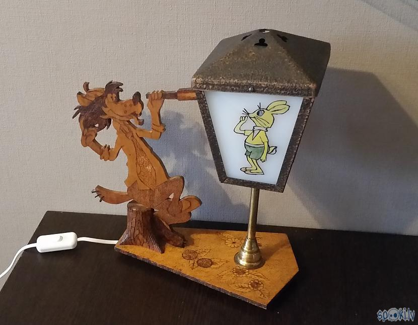 """Nu jau viss salikts atpakaļ Autors: pyrathe Retro lampa """"Ну, погоди!"""""""
