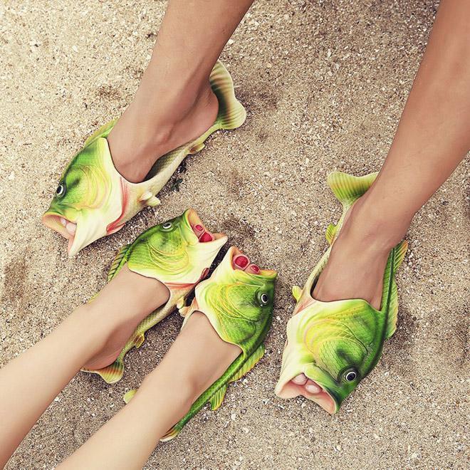 Autors: Fosilija Zivju sandales: šīs vasaras apavu modes sensācija