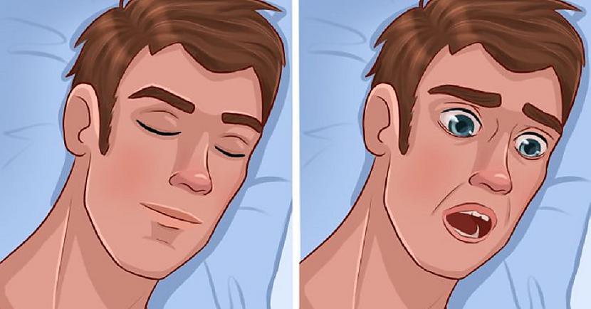 Dažreiz smadzenes uzsāk cīņu... Autors: Lestets Kāpēc aizmiegot mēs mēdzam pēkšņi pamosties?