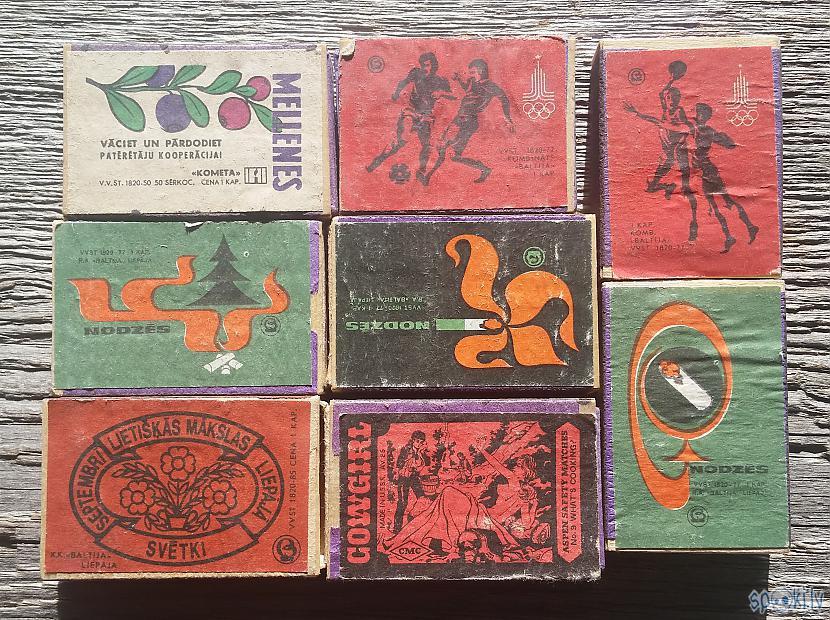 Autors: pyrathe Mana sērkociņu kastīšu kolekcija #6