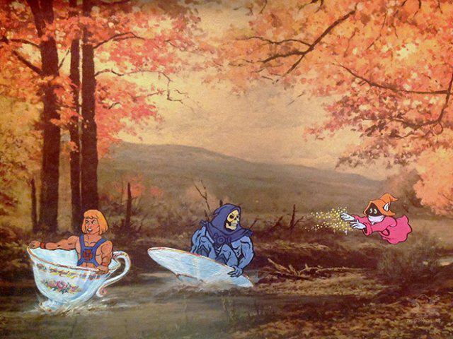 Autors: Fosilija Lietotās gleznas mākslinieks papildina ar popkultūras varoņiem