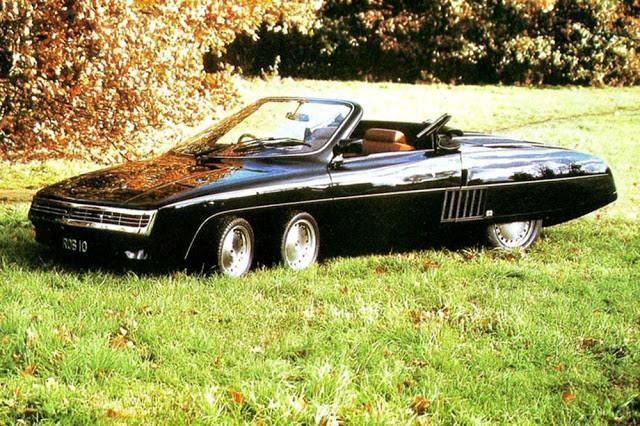 Autors: Zibenzellis69 Panther 6 - neparasts britu 6 riteņu kabriolets 1977. gads (14 fotoattēli)