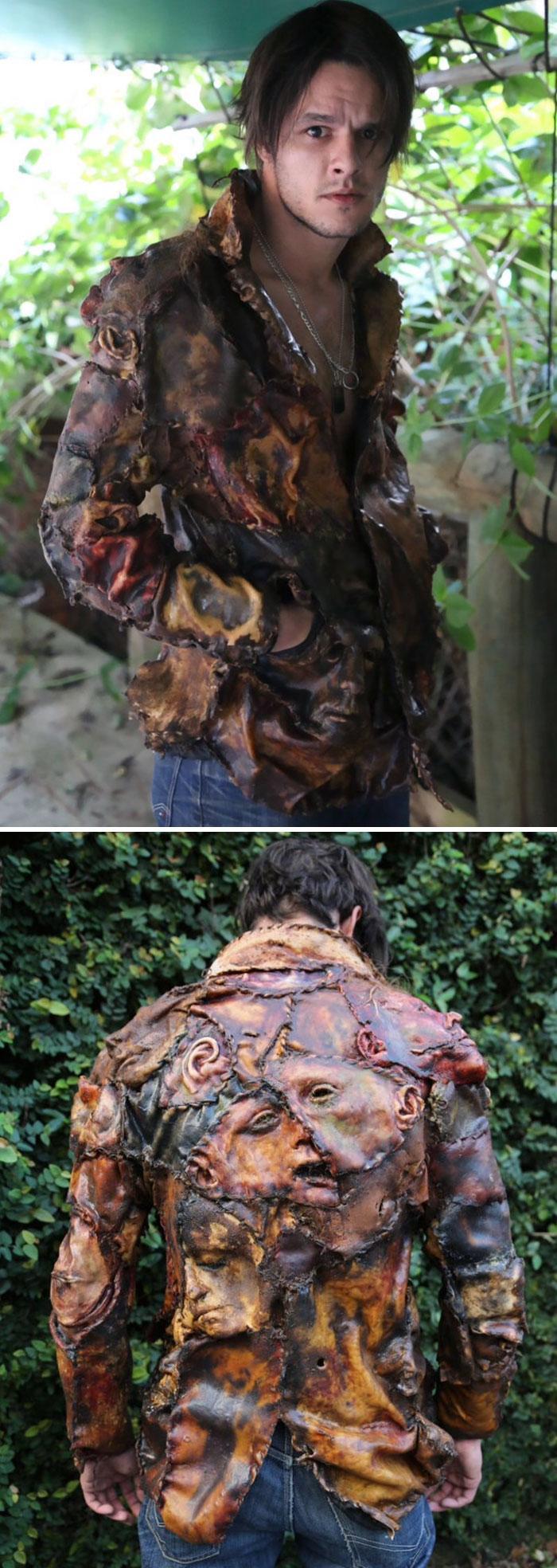 Scarono briesmīgo darbu... Autors: Zibenzellis69 Šī ir visbriesmīgākā un neglītākā apģērbu un aksesuāru kolekcija