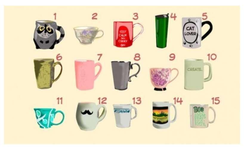 Nr 8Jūs esat nervozs un... Autors: Zibenzellis69 Psiholoģisks tests: Ko tasītes izvēle liecina par tavu raksturu?