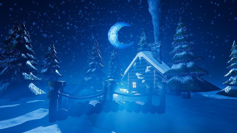 Autors: Digitalartistzj Maģiska nakts ziemā turpinājums