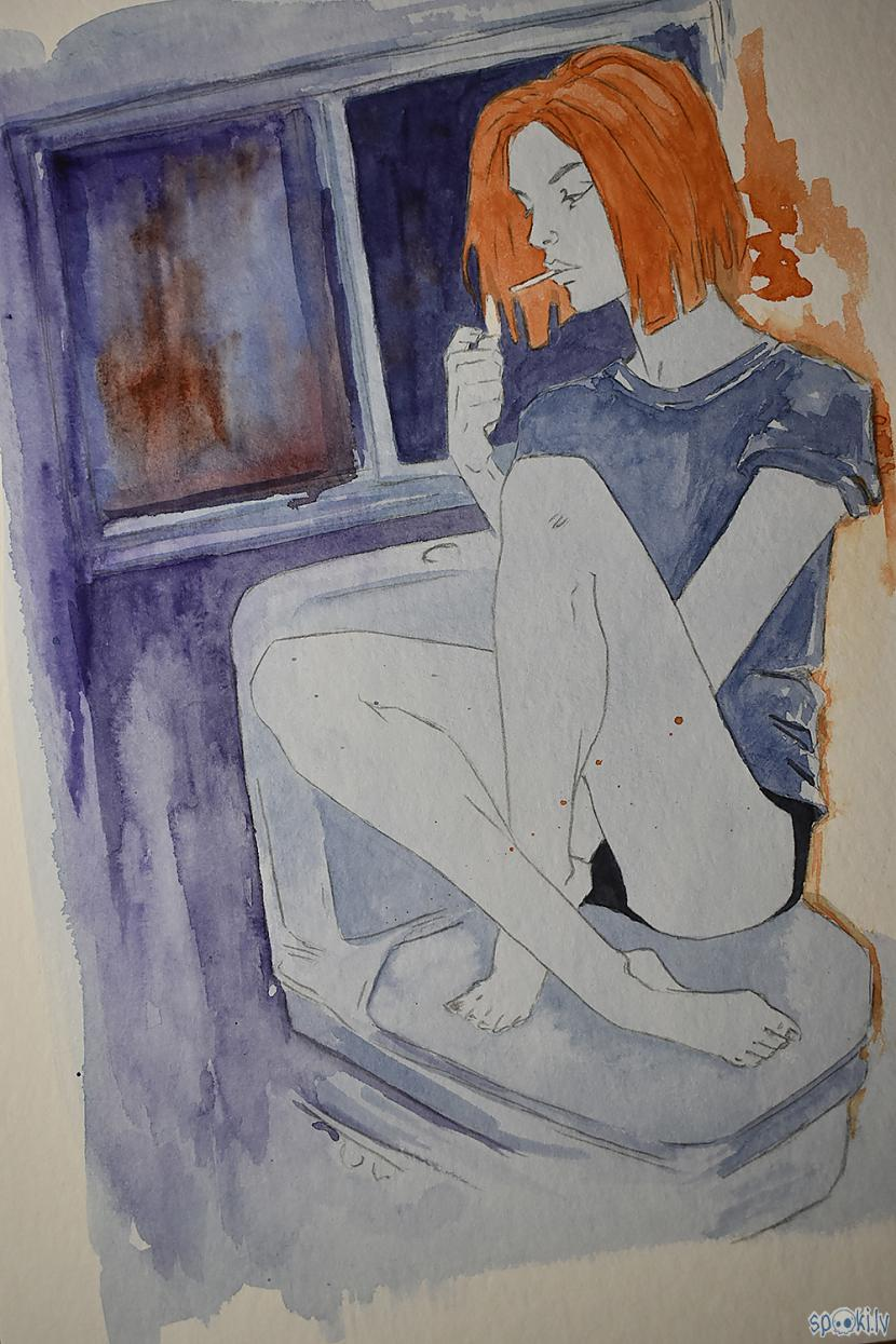 Joprojām nesaprotu ko daru Autors: Madder Sirsniņdiena 2021 (No skices līdz Krāsai)