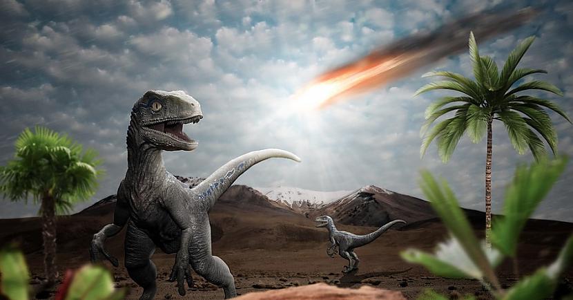 Tā noteikti bija viena no... Autors: Lestets Mīkla atrisināta: Mums ir pierādījumi, ka tieši asteroīds nogalināja dinozaurus