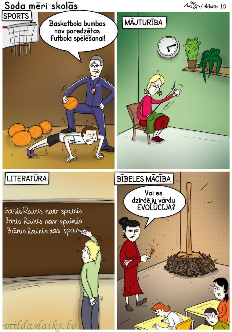 Kristīgās mācības skolotāji... Autors: Vecais burvis Smieklīgi komiksi