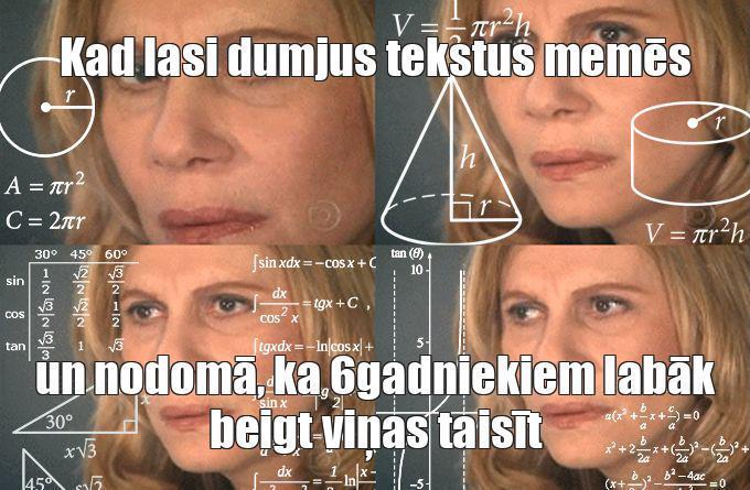 Autors: es ir zebiekste Memes
