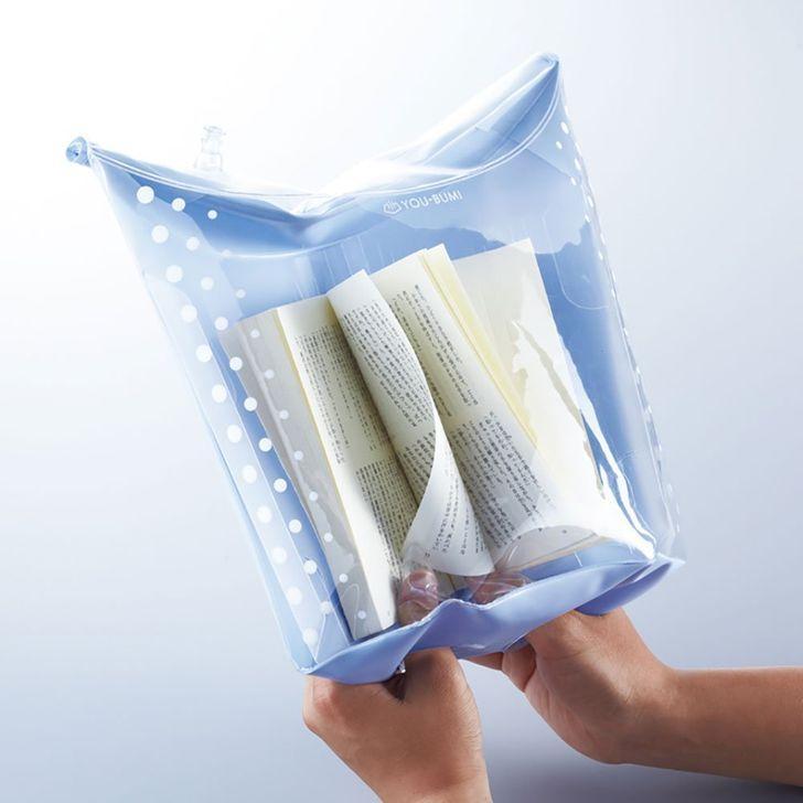 Ūdens necaurlaidīgs grāmatas... Autors: The Diāna 20 izgudrojumi, kuri iespējami tikai Japānā