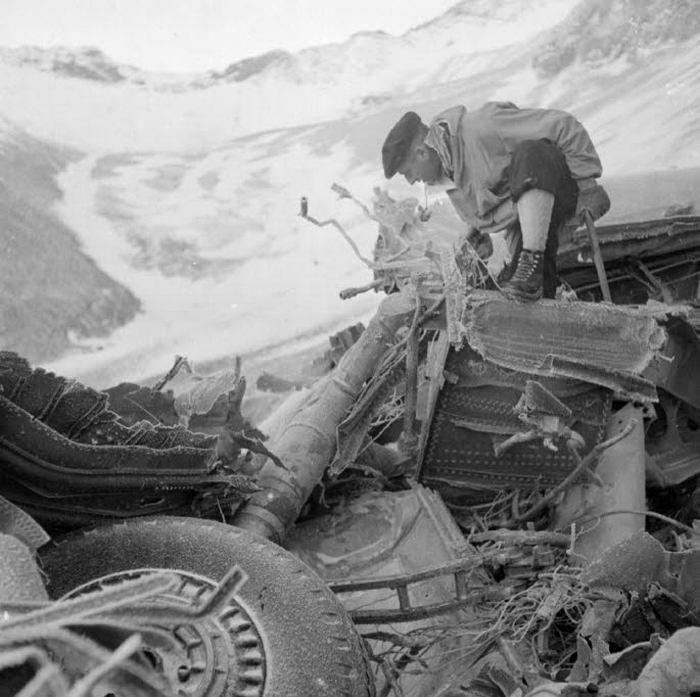 Lidmascaronīnas C54 katastrofa... Autors: Plane Crash central Komerciālo lidaparātu katastrofu bildes (Piecdesmitie)