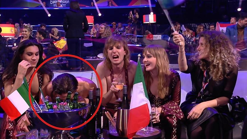 Pēc Itālijas uzvaras vairāki... Autors: matilde Eirovīzijas uzvarētājus apsūdz narkotiku lietošanā tiešraides laikā