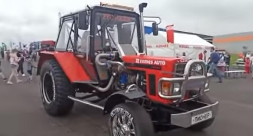 Autors: Zibenzellis69 Traktors MTZ pret kravas vilcēju, kurš ātrāks