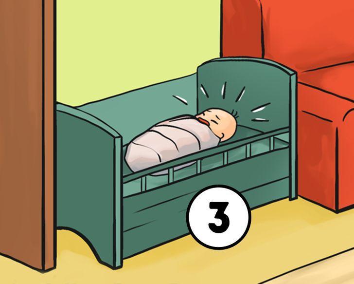 Nomierināt bērnuJa vispirms... Autors: Lestets Pirmais, ko darīt šajā situācijā? Izvēlies un uzzini, ko tas atklāj par tevi