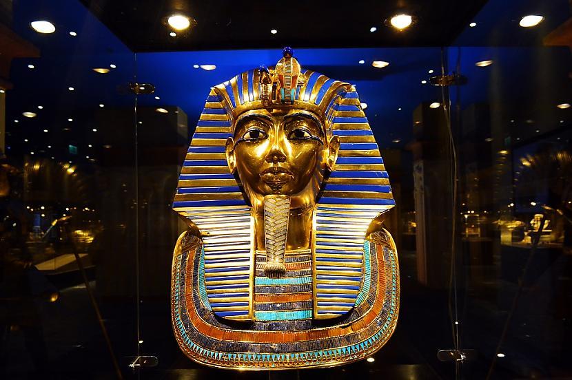 Faraona Tutanhamona... Autors: matilde Senās Ēģiptes lielākās mistērijas