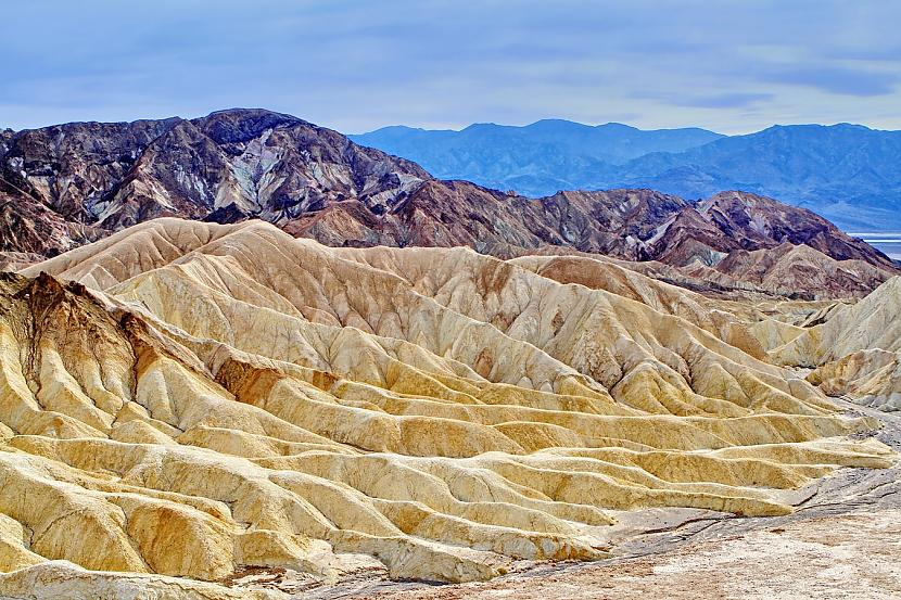 Nāves ieleja ir viena no... Autors: matilde Nāves ielejā gandrīz pārspēts pasaules augstākās gaisa temperatūras rekords