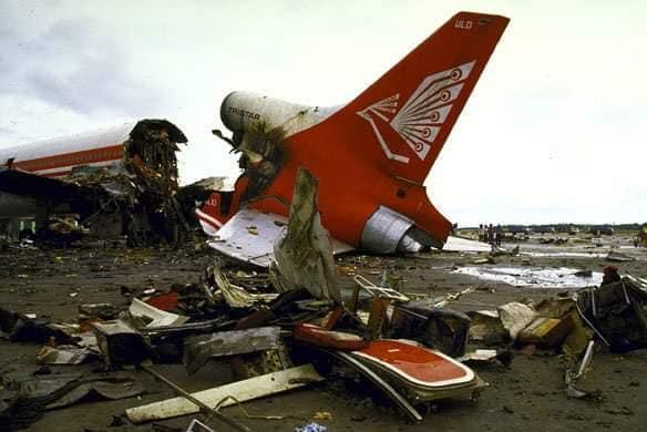 Air Lanka reiss 512 1986gada... Autors: Plane Crash central Komerciālo lidaparātu katastrofu bildes (Astoņdesmitie) 1986.-1989.g