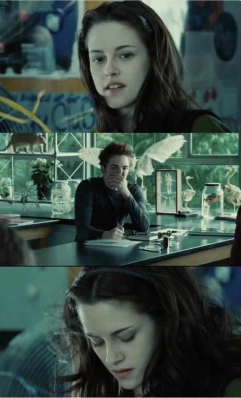 Kad Bella iegāja klases telpā... Autors: The Diāna 18 iemesli, kāpēc «Krēsla» patiesībā ir tīri laba komēdija