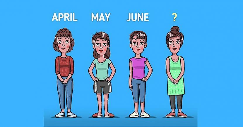 Annas māsas sauc April May un... Autors: The Diāna 7 «smadzeņmežģi», uz kuriem ne visi var atbildēt pareizi