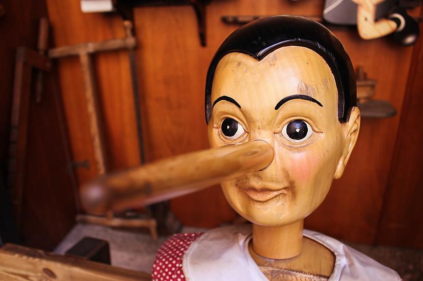 Ja tu zināsi scaronīs... Autors: matilde Vai zini, kā atšķirt krietnu meli no nekrietnas? Lūk, tipiskākās pazīmes