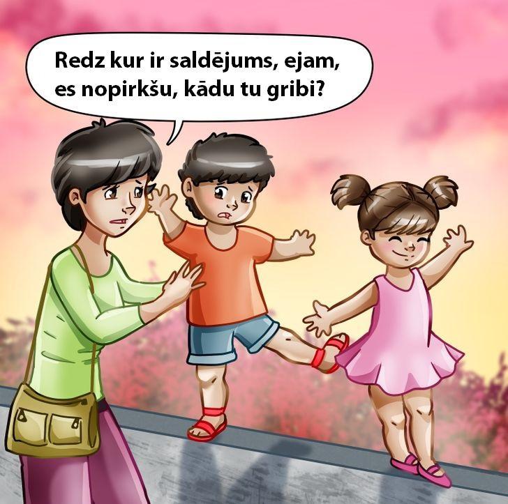 Neļaujiet savam bērnam kļūt... Autors: Lestets 9 veidi, kā tikt galā ar svešiem bērniem, kuri slikti uzvedas