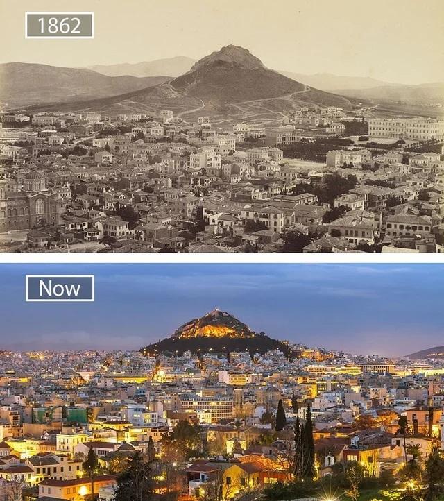 Atēnas Grieķija Autors: Lestets Toreiz un tagad: Kā laika gaitā ir mainījušās šīs vietas?