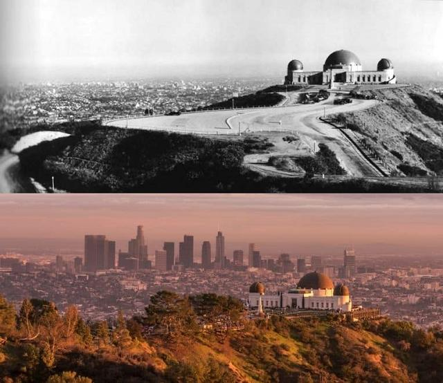 Grifina parka observatorija... Autors: Lestets Toreiz un tagad: Kā laika gaitā ir mainījušās šīs vietas?