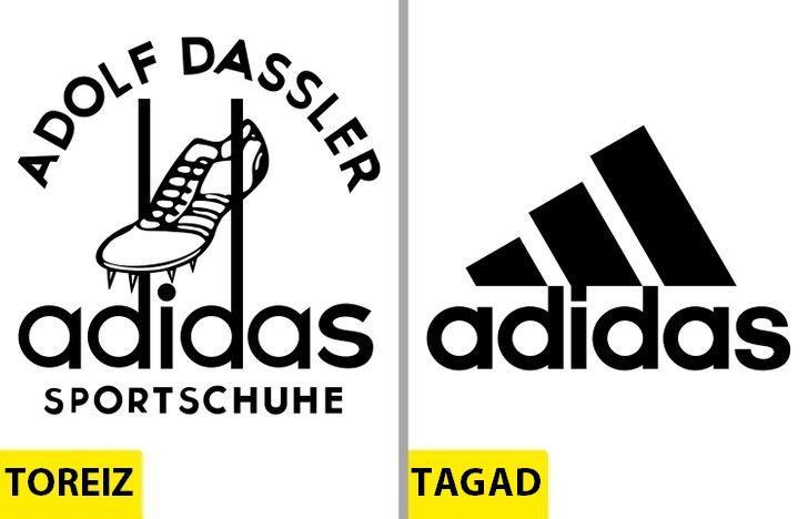 AdidasAtpazīstamās trīs... Autors: Lestets Kā pēdējo 50 gadu laikā ir mainījušies slavenu brendu logo?
